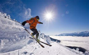 Slidinėjimas žiemos kurortuose